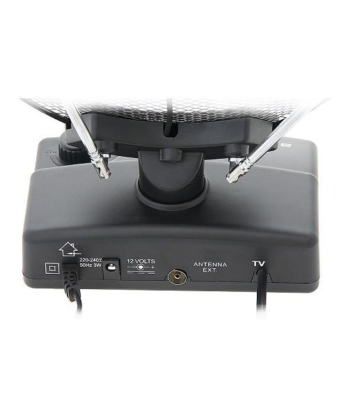 antena digital tdt amplificada interior 36 db