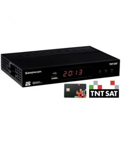 Recetor TNTSAT Canais Franceses SAGEMCOM DS81 HD